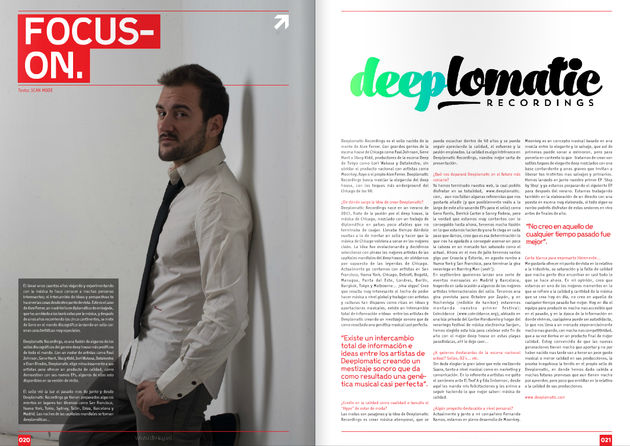 Media DJ Mag Spain Focus On