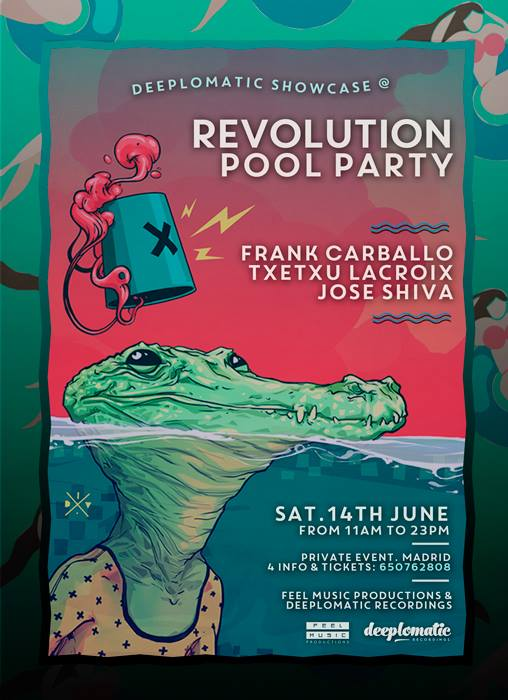Deeplomatic Showcase @ Revolution Pool Party