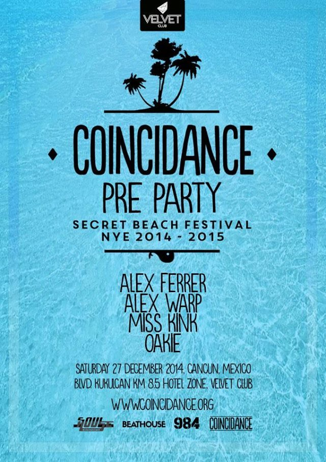 Coincidance Festival Pre-Party @ Velvet Club