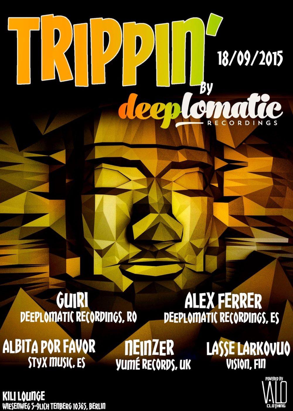 Trippin Deeplomatic @ Kili Lounge