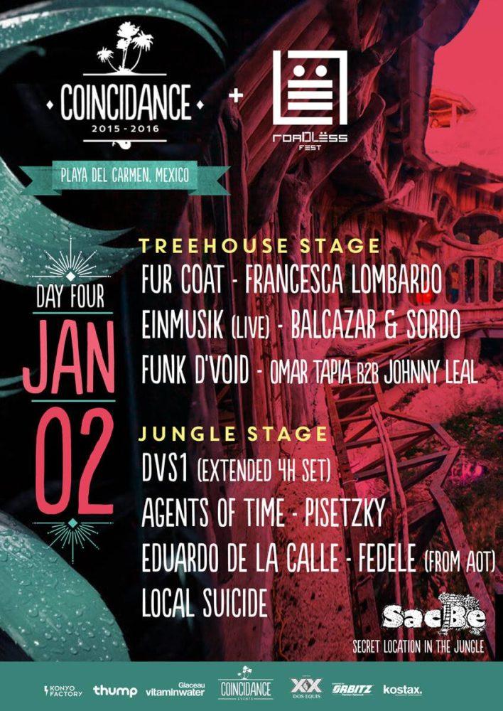 Coincidance Festival Closing Party + Roadless Fest