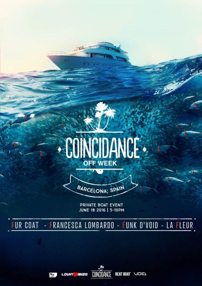 Coincidance Off Week With Fur Coat, Francesca Lombardo, La Fleur, Funk D'Void
