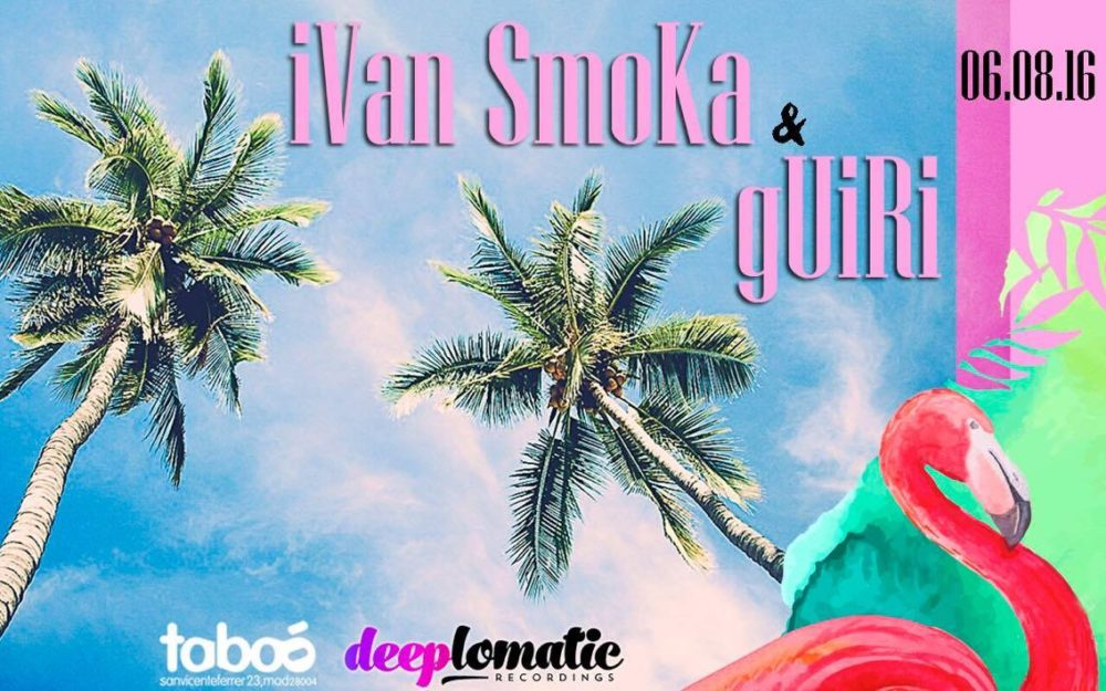 Deeplomatic Nights Presents Ivan Smoka And Guiri @ Taboo