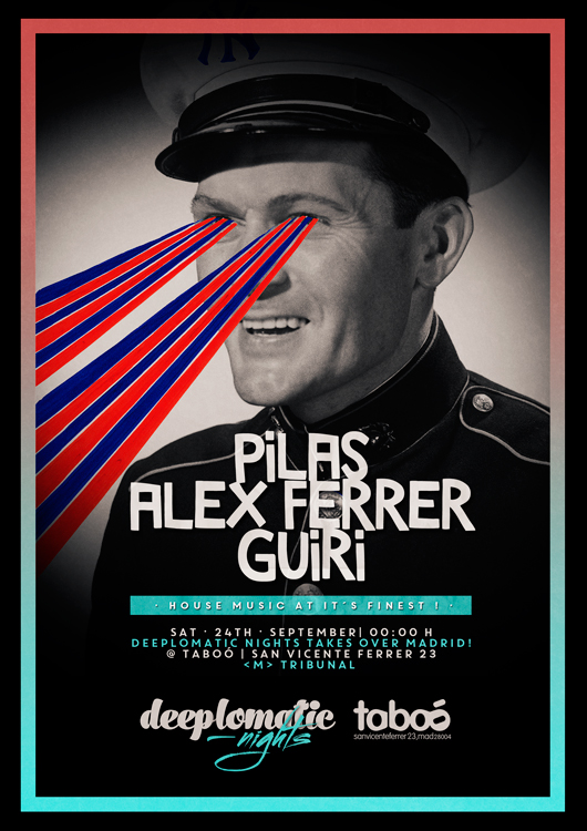 Deeplomatic Nights Presents Pilas And Alex Ferrer @ Taboo