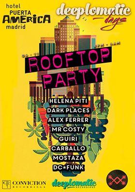 Deeplomatic Rooftop Party at Hotel Silken Puerta de America