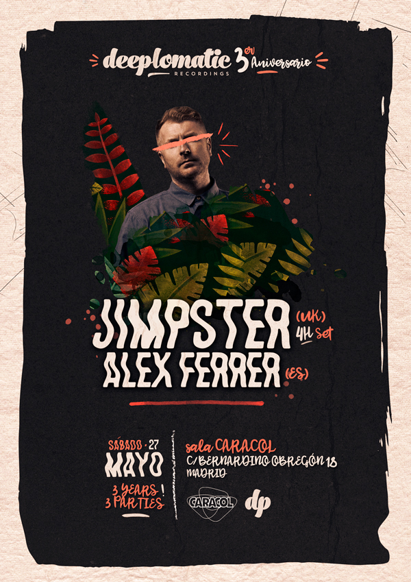 Deeplomatic Recordings 3º Anniversary: Jimpster + Alex Ferrer @ Sala Caracol
