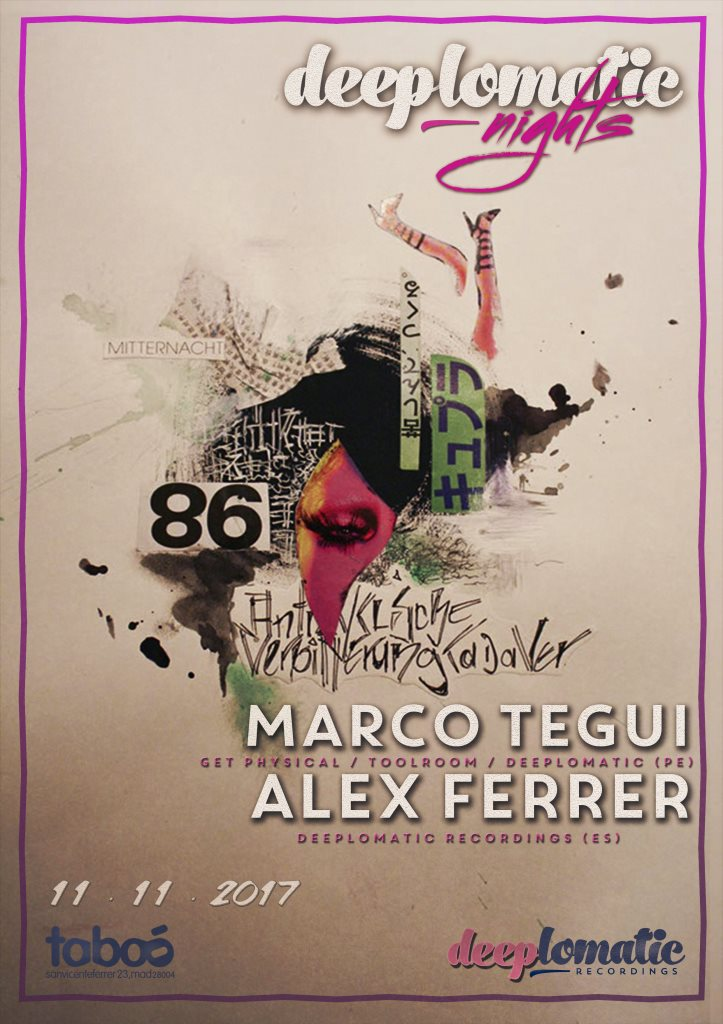 Deeplomatic Nights Pres. Marco Tegui