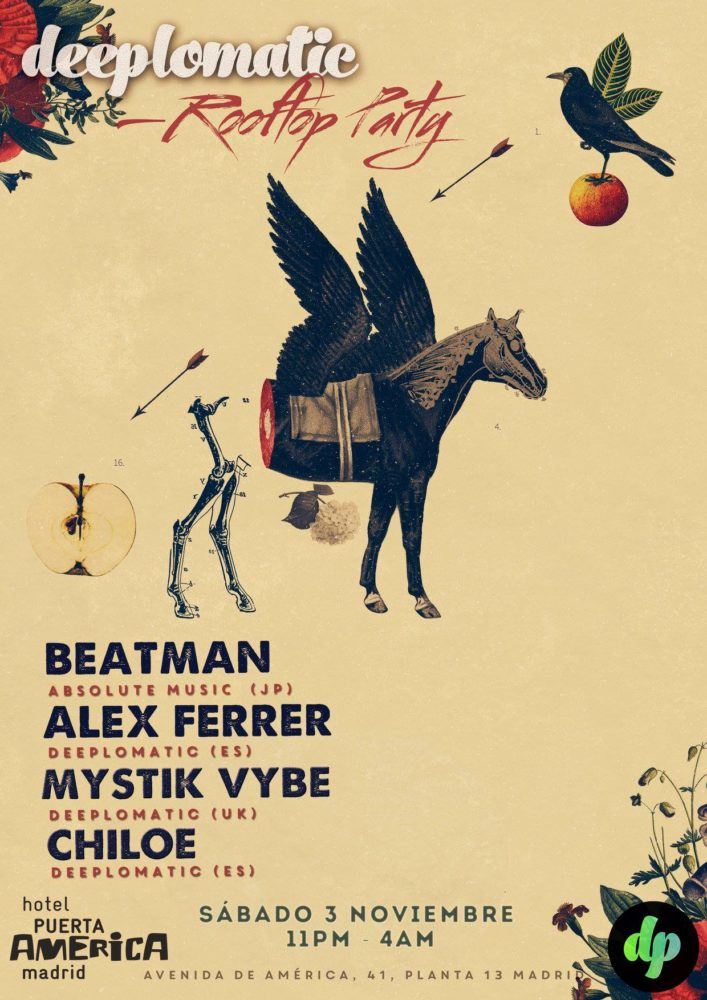 Deeplomatic Rooftop Party With Beatman (JP) And Alex Ferrer (ES)