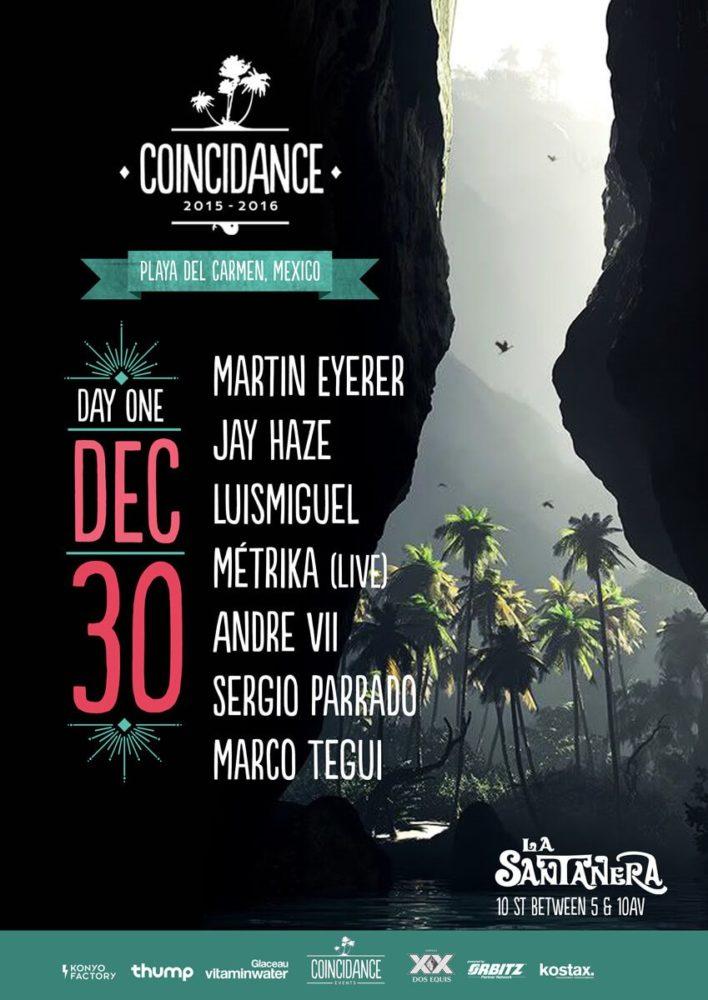 Coincidance Day 1: Martin Eyerer, Jay Haze, Miguel Puente, Louie Fresco, Metrika…