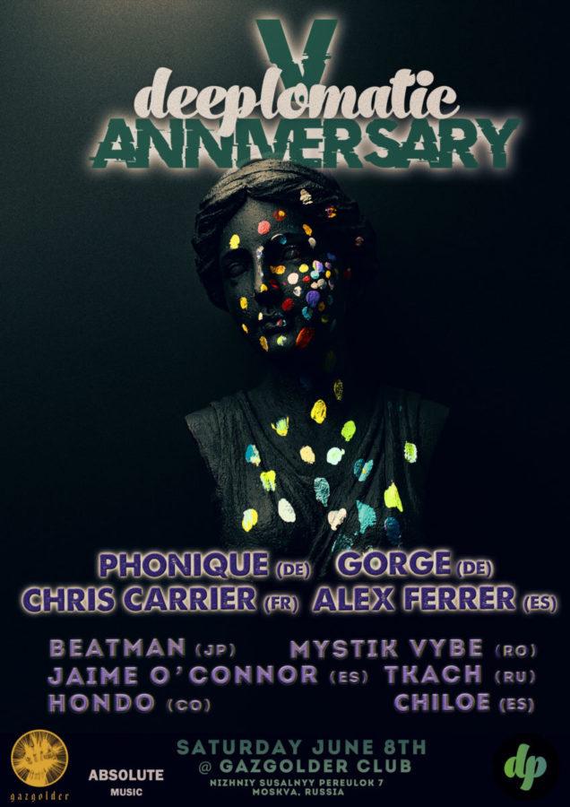 Deeplomatic V Anniversary @ Gazgolder